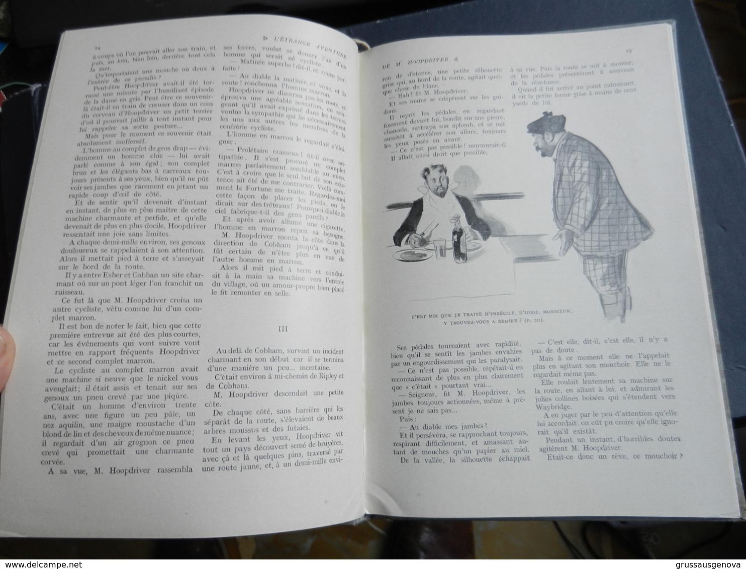8) H.G. WELLS ETRANGE AVENTURE DE M HOOPDRIVER ILLUSTRATIONS WELY  EDITEUR PIERRE LAFITTE - Bücher, Zeitschriften, Comics