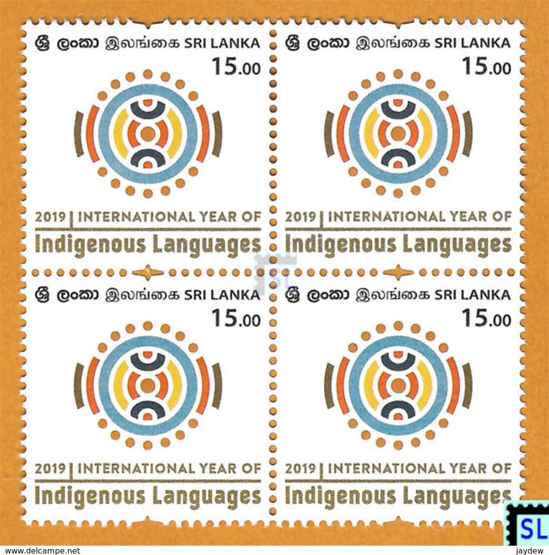 Sri Lanka Stamps 2019, Indigenous Languages, MNH - Sri Lanka (Ceylon) (1948-...)