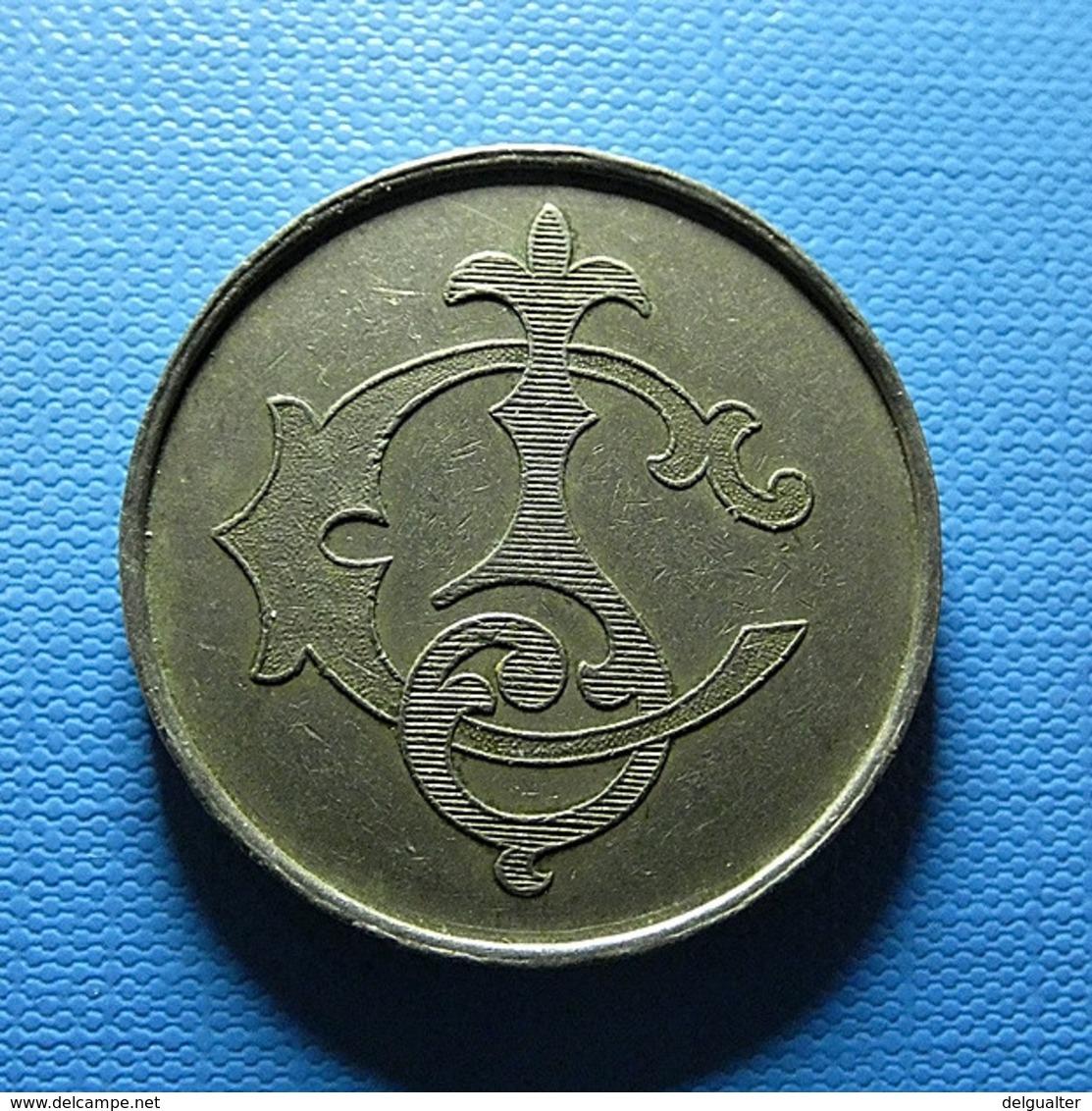 Token - 50 Centavos - Fichas Y Medallas