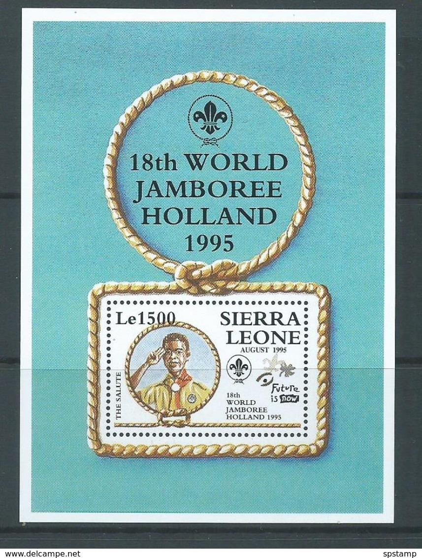Sierra Leone 1995 Boy Scout Jamboree Miniature Sheet MNH - Sierra Leone (1961-...)