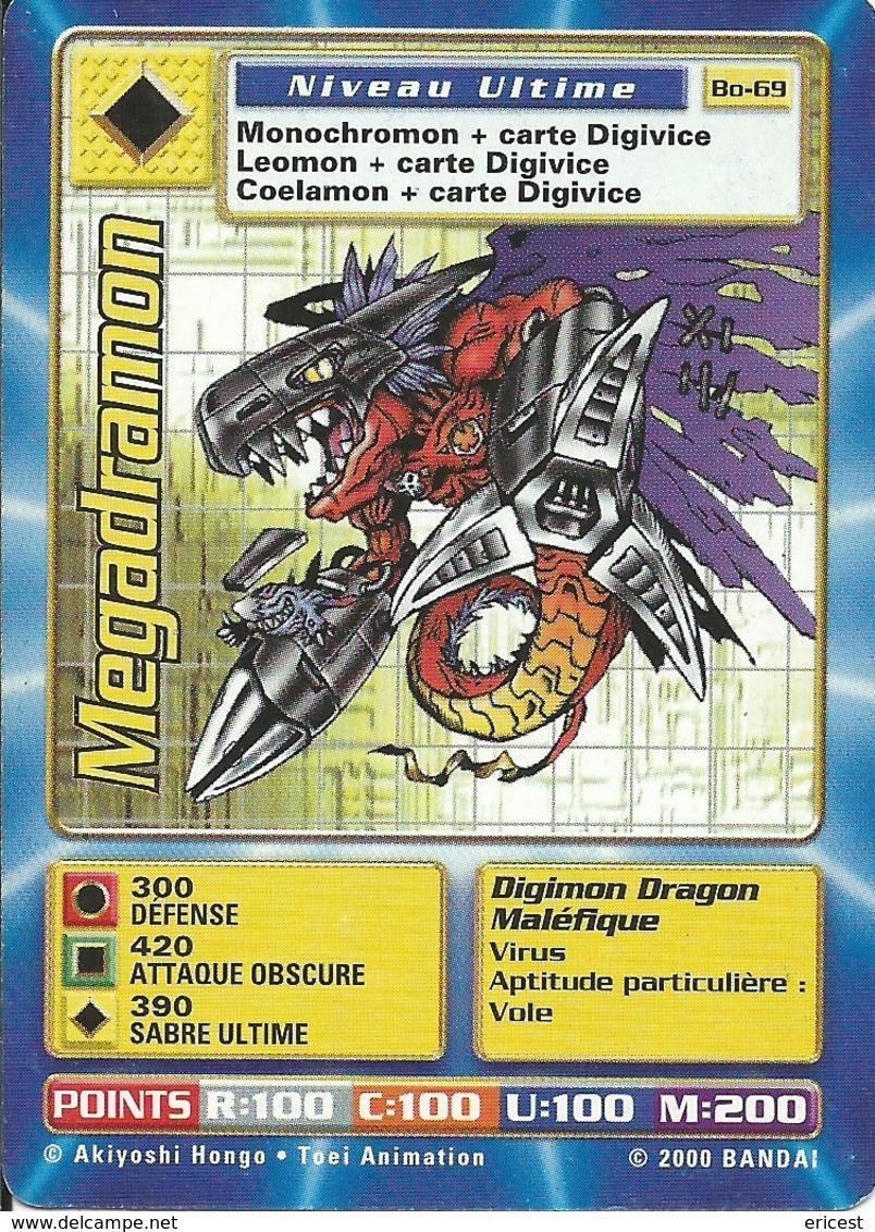 B - CARTE DIGIMON MEGADRAMON BO-69 FR ETAT COURANT - Trading Cards