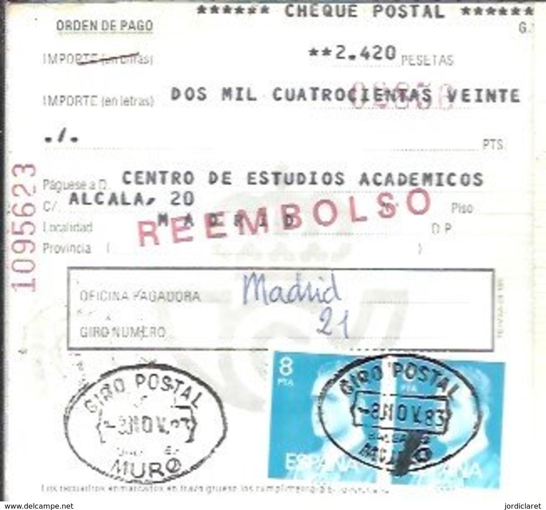 GIRO 1983   MURO - 1931-Hoy: 2ª República - ... Juan Carlos I