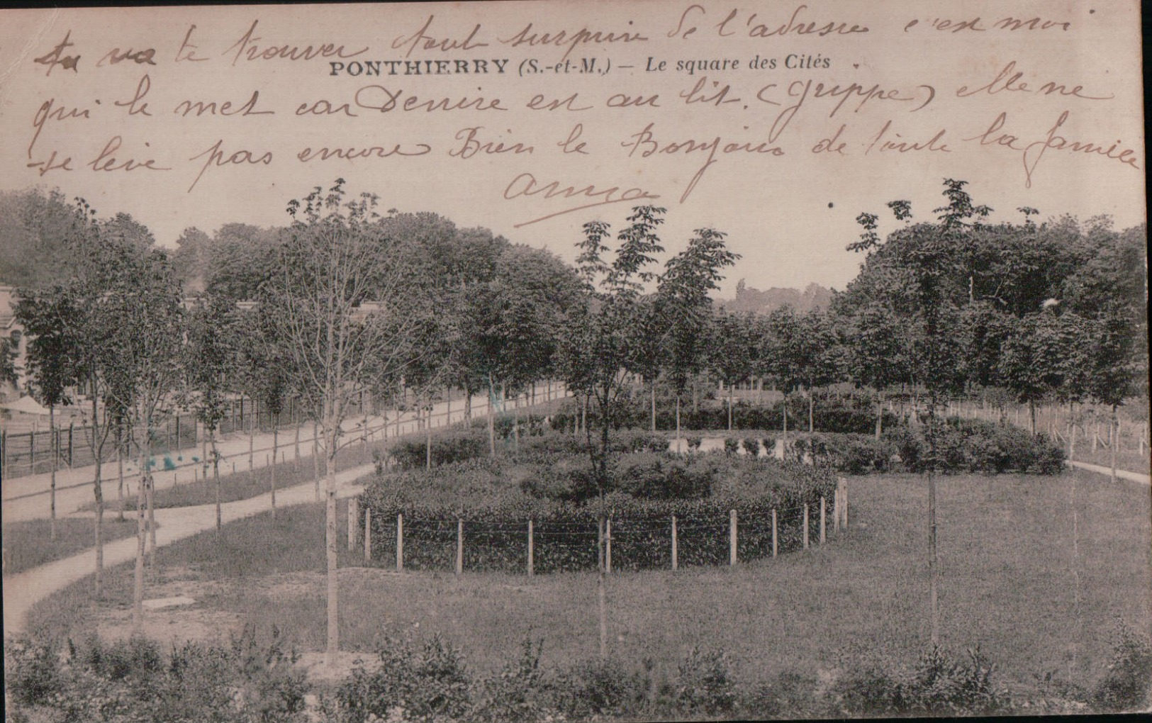 2770    PONTHIERRY  ECRITE - France