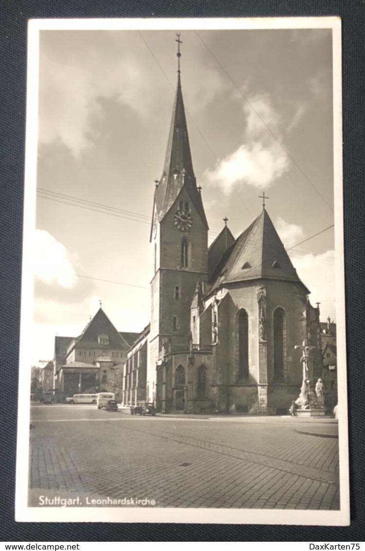 Stuttgart Leonardskirche/Oldtimer Autos - Stuttgart
