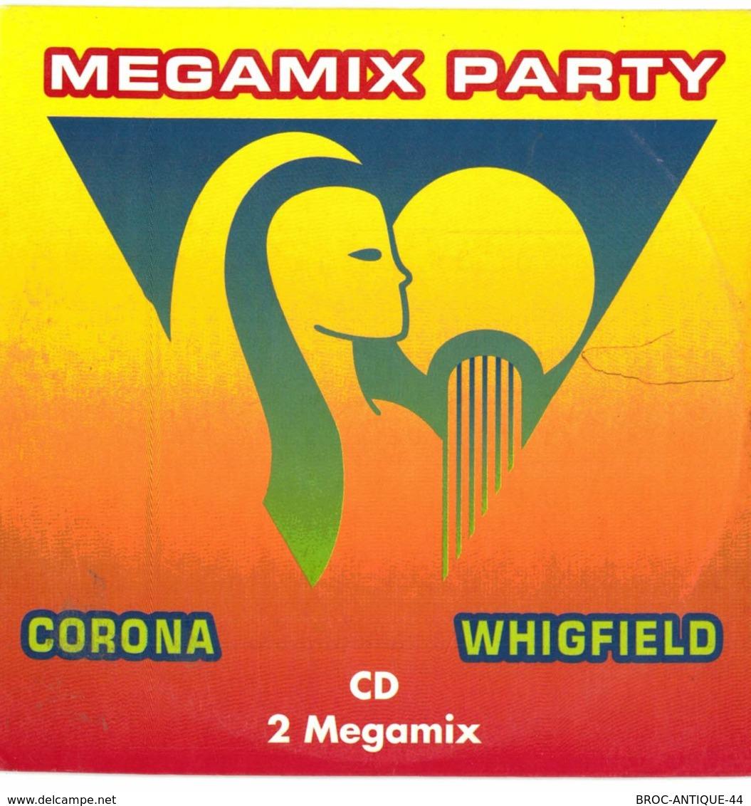 CD N°1953 - MEGAMIX PARTY - CORONA & WHIGFIELD - COMPILATION 7 TITRES PUB POUR CLAIRFONTAINE - Dance, Techno & House