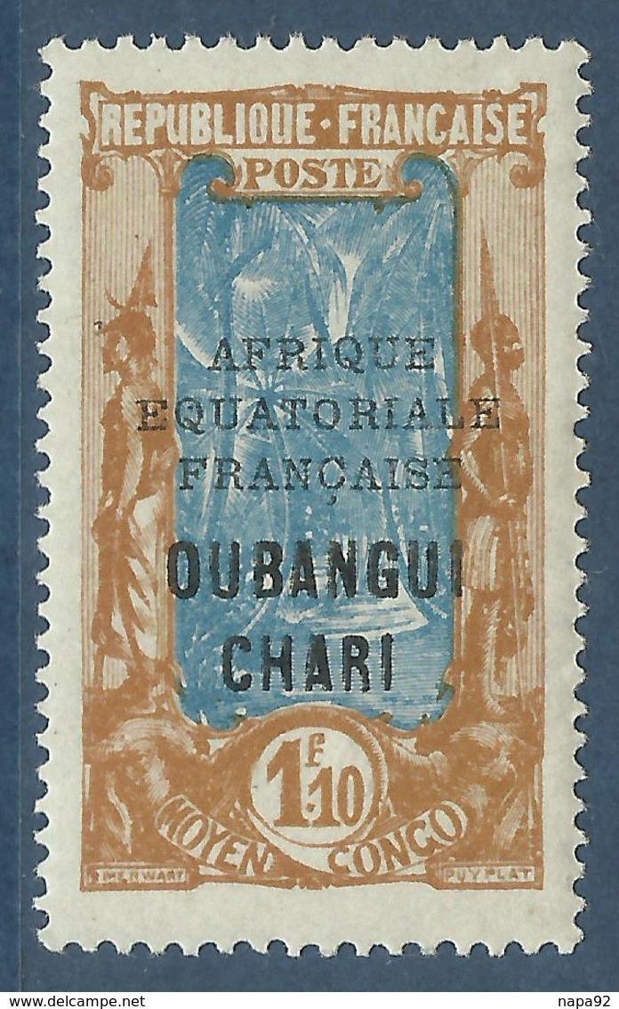 OUBANGUI-CHARI 1928 YT 79** SANS CHARNIERE NI TRACE - Oubangui (1915-1936)