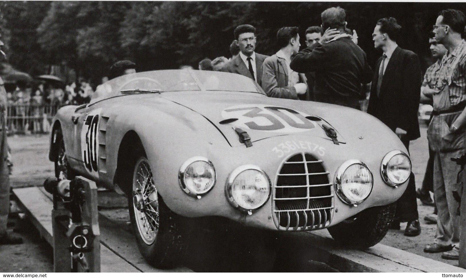 Gordini T15S - Pilotes: Charles Rinen/Robert Lacaze  (Concurrents Francaises Du Mans 1957) - PHOTO 15x10cms - Le Mans