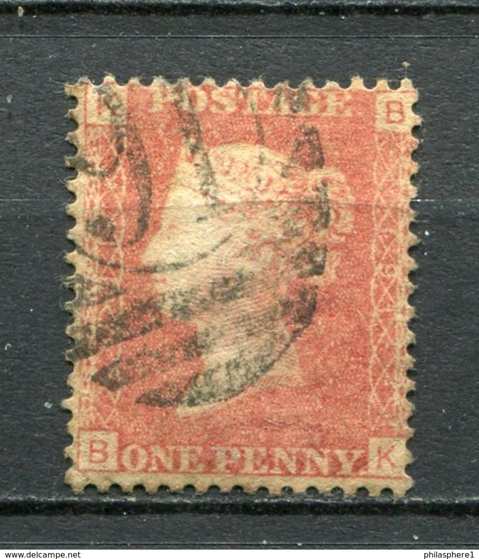Great Britain Nr.16 Platte:191     (B-K)      O  Used      (1188) - Oblitérés