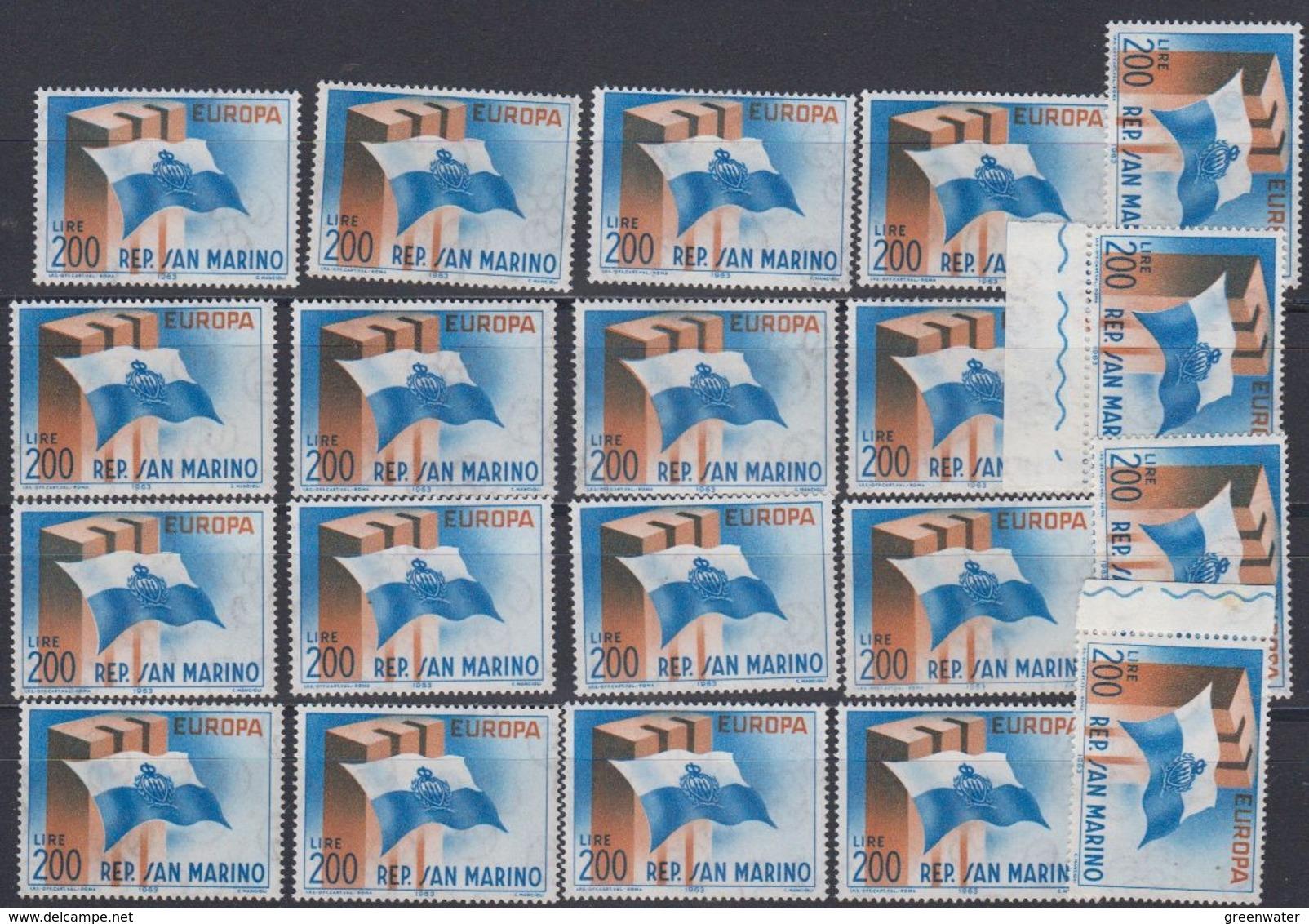 Europa Cept 1963 San Marino 1v (20x)  (44947) - Europa-CEPT