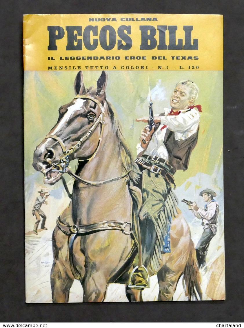 Fumetti - Nuova Collana Pecos Bill - N. 3 - Gennaio 1971 - Boeken, Tijdschriften, Stripverhalen