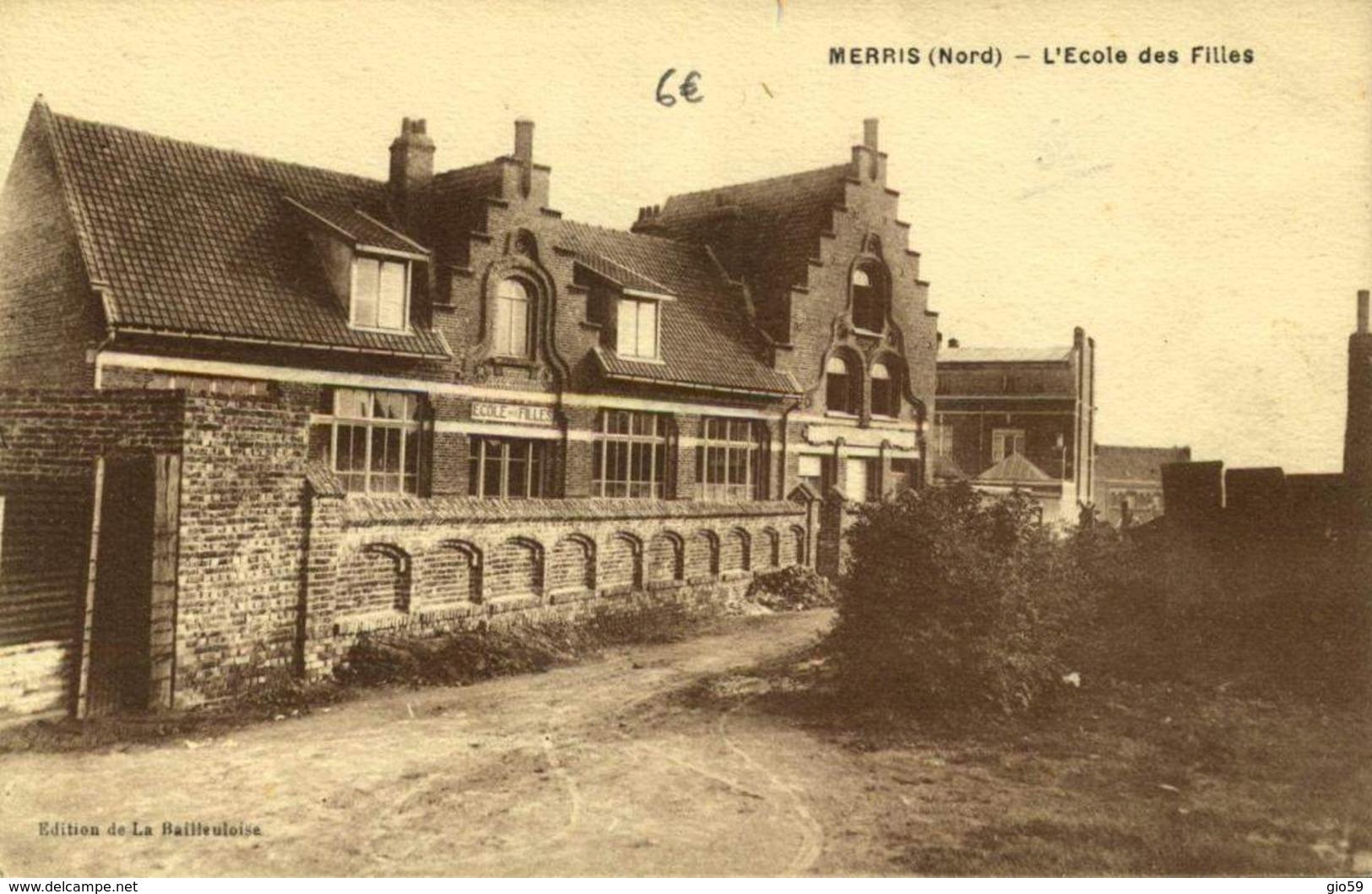59 MERRIS L'ECOLE DES FILLES / A 576 - Francia