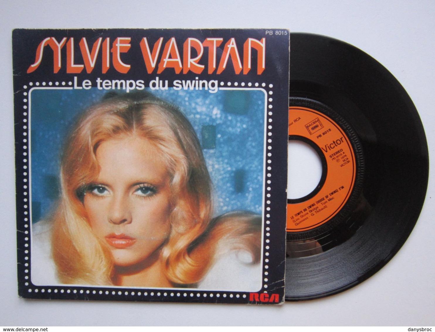 SYLVIE VARTAN / Le Temps Du Swing (house Of Swing) / Dieu Merci (si, Ci Sto) / Disque Vinyle 45t SACEM 1976 - Collector's Editions