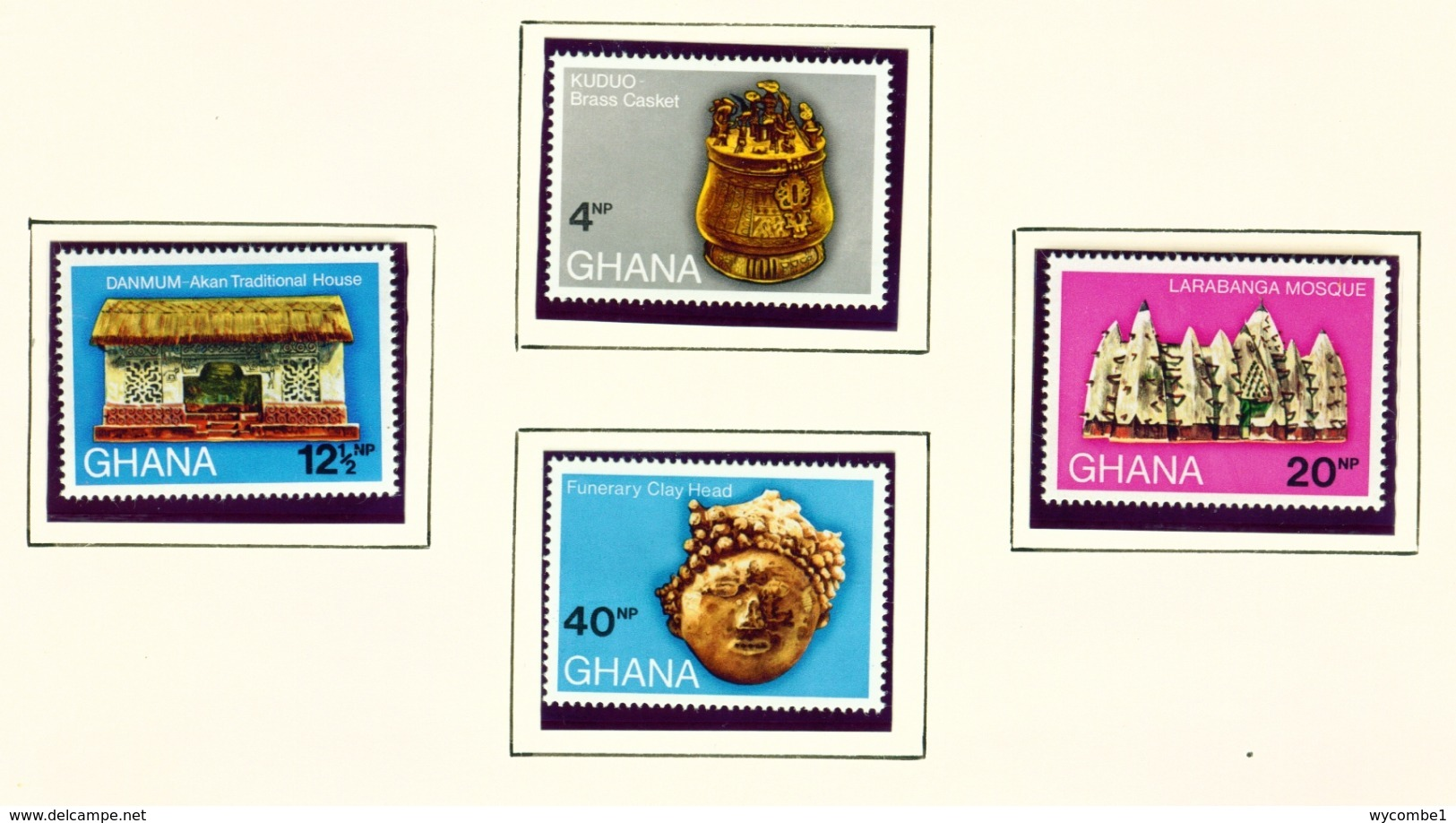GHANA  -  1970 Archaeology Set Unmounted/Never Hinged Mint - Ghana (1957-...)