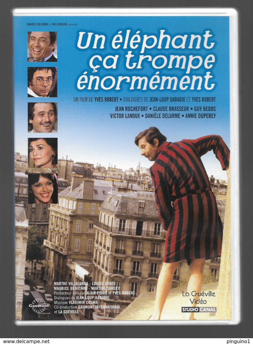 DVD Un éléphant ça Trompe énormément - Komedie
