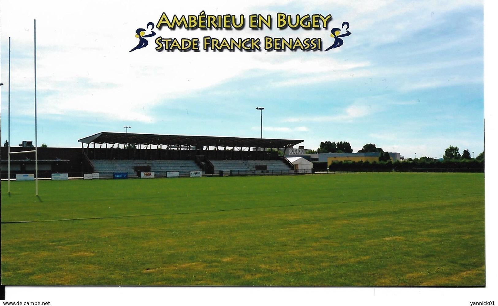 STADE RUGBY FOOTBALL FRANCK BENASSI AMBERIEU EN BUGEY  ESTADIO - STADIUM STADIO - Rugby