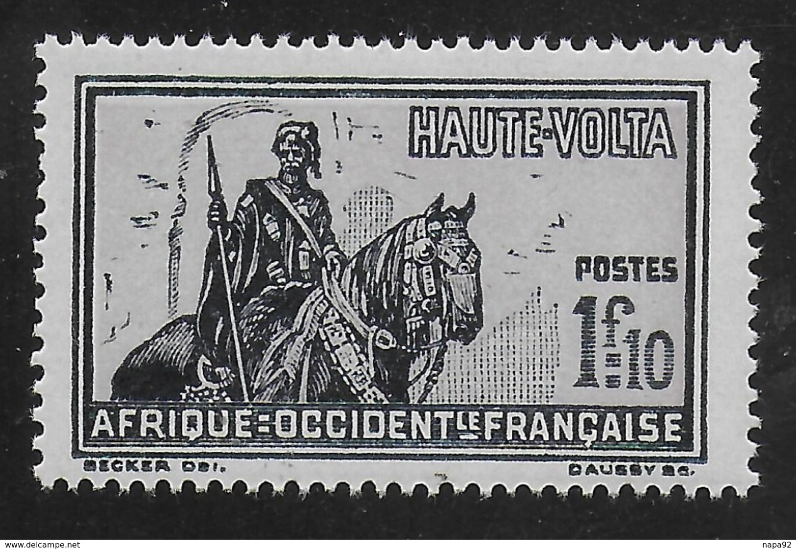 HAUTE VOLTA 1928 YT 59** - MNH - Obervolta (1920-1932)