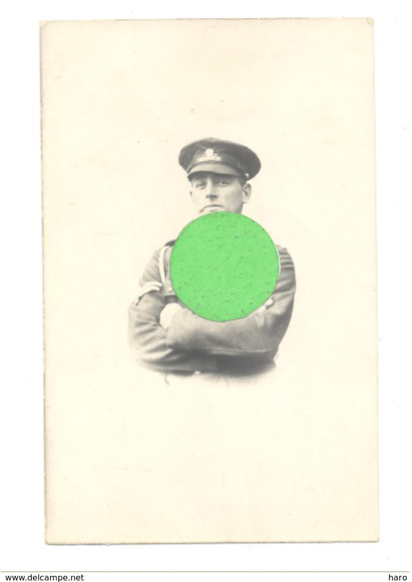 Photo Carte - Guerre 14/18 - Armée Anglaise - Cpl Harold Batterbee 17th Lancers Basé én France - Ouffet (b265) - War 1914-18