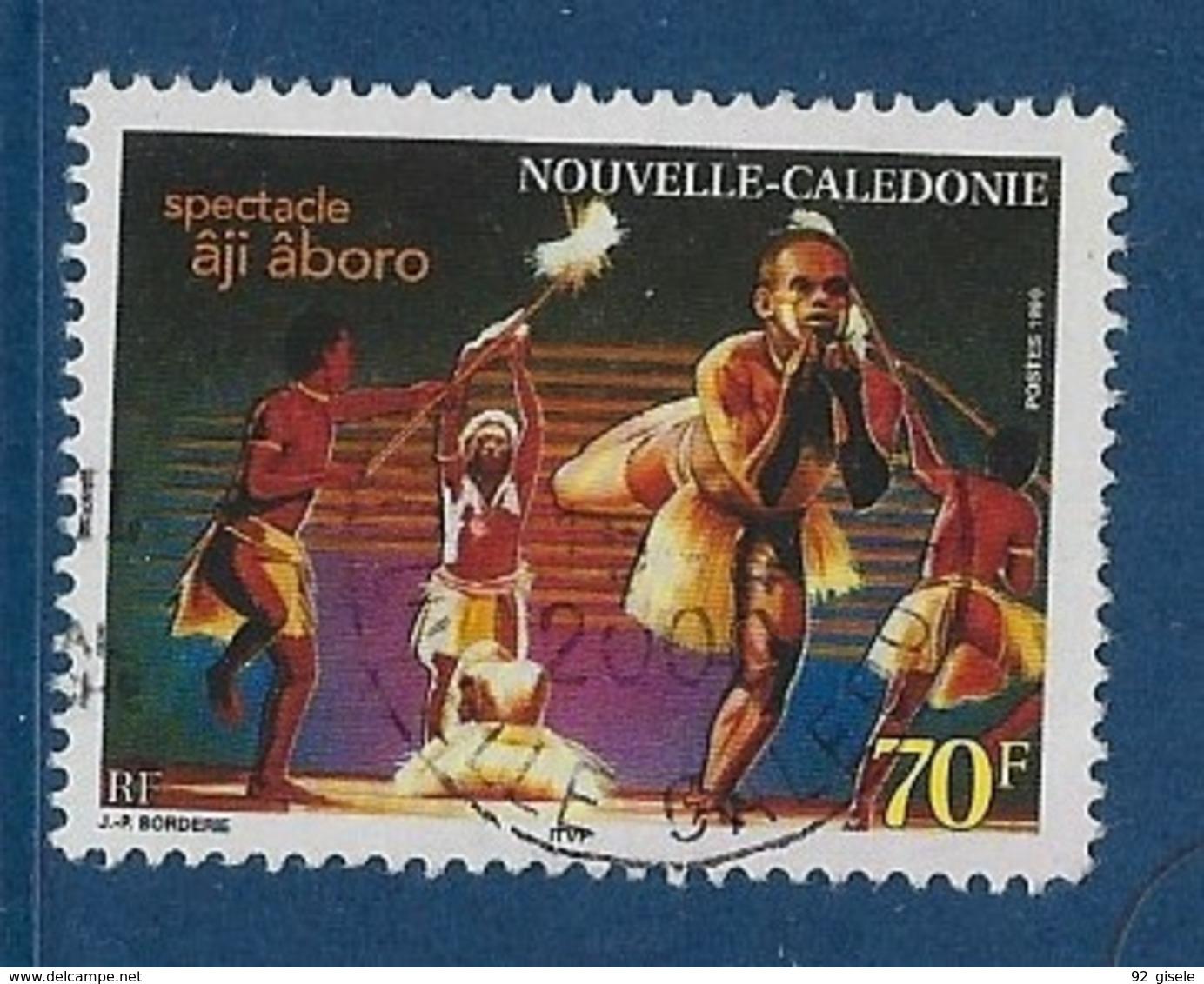 """Nle-Caledonie YT 806 """" Spectacle """" 1999 Oblitéré - Neukaledonien"""