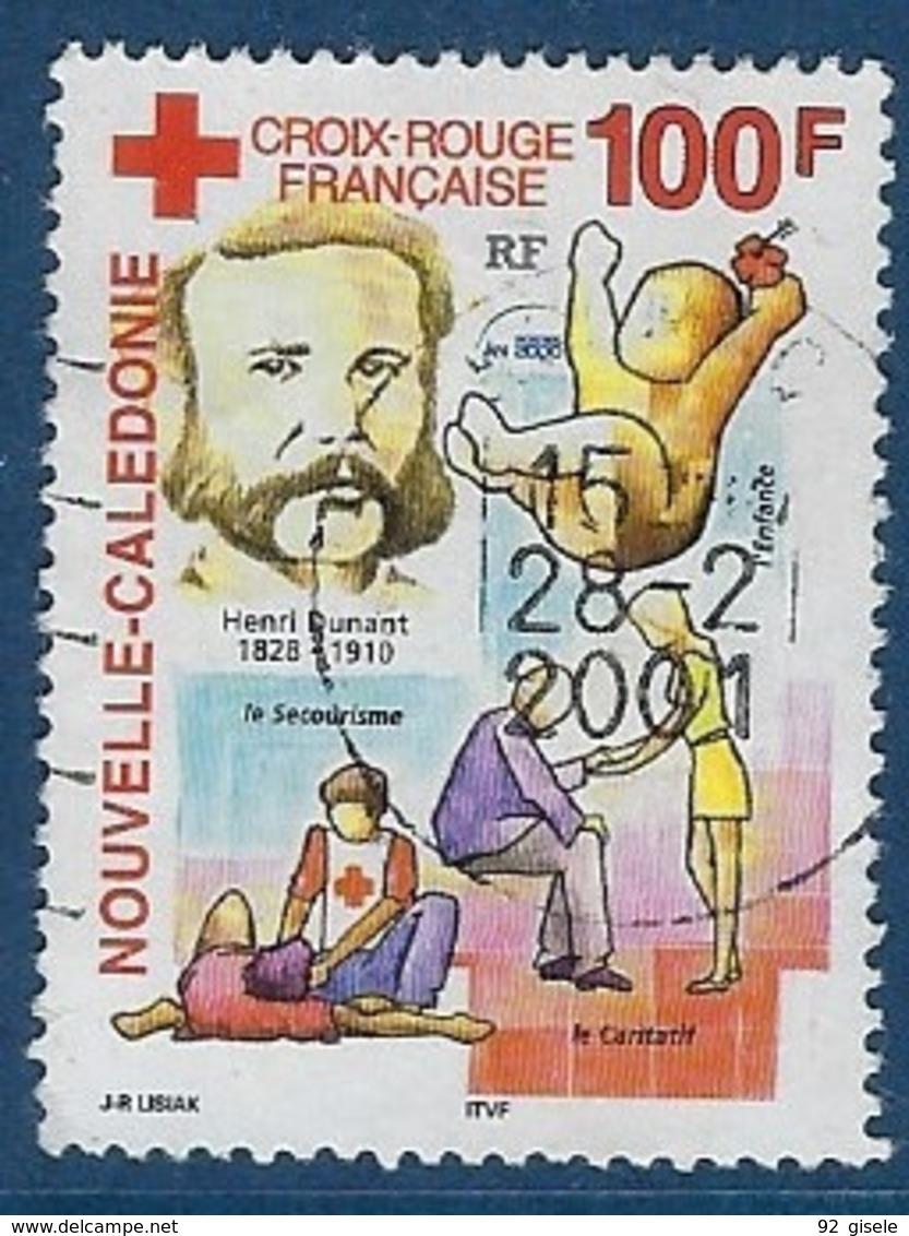 """Nle-Caledonie YT 830 """" Croix-Rouge """" 2000 Oblitéré - Usados"""