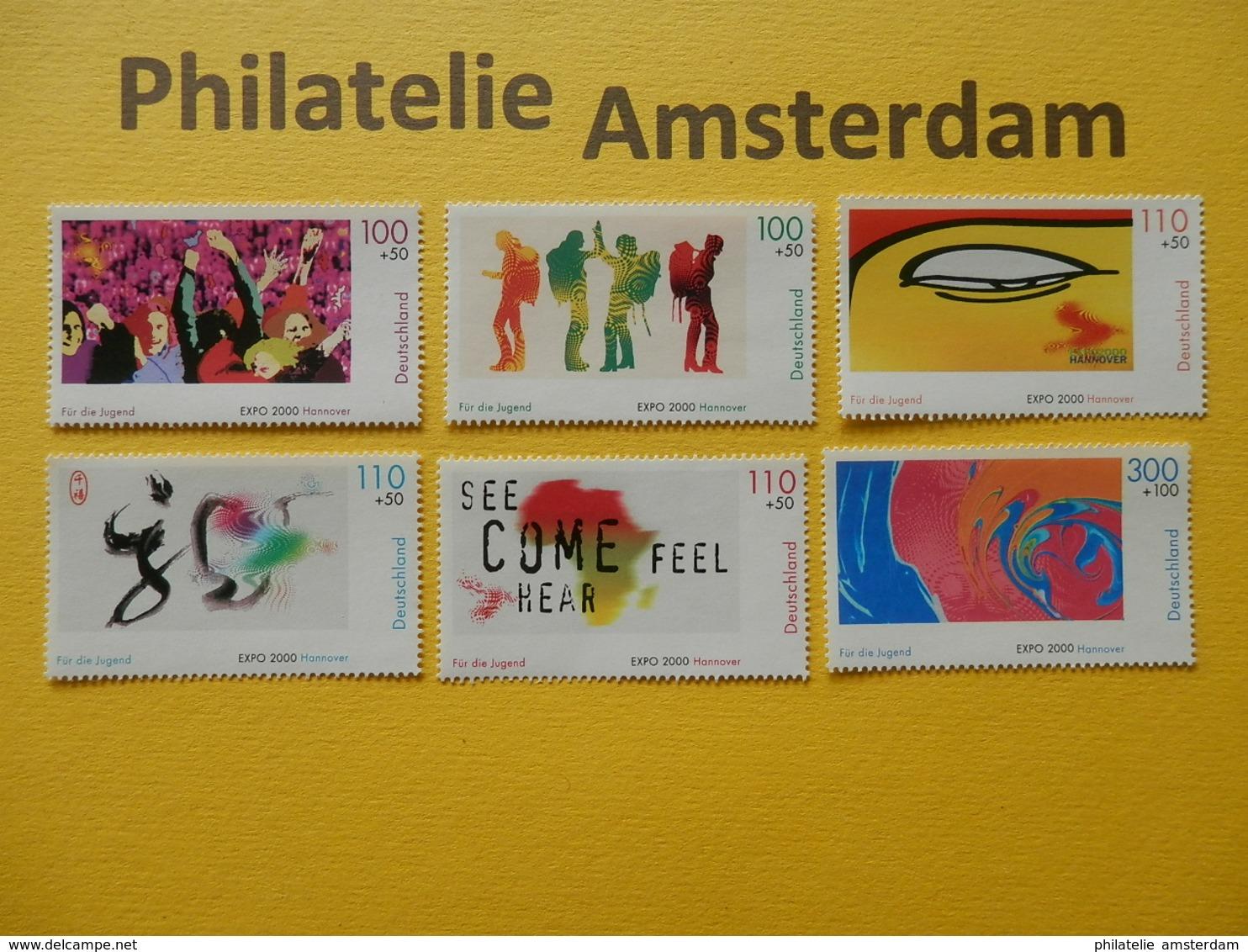 Germany 2000, EXPO UNIVERSELLE WERELDTENTOONSTELLING HANNOVER: Mi 2117-22, ** - 2000 – Hannover (Germania)
