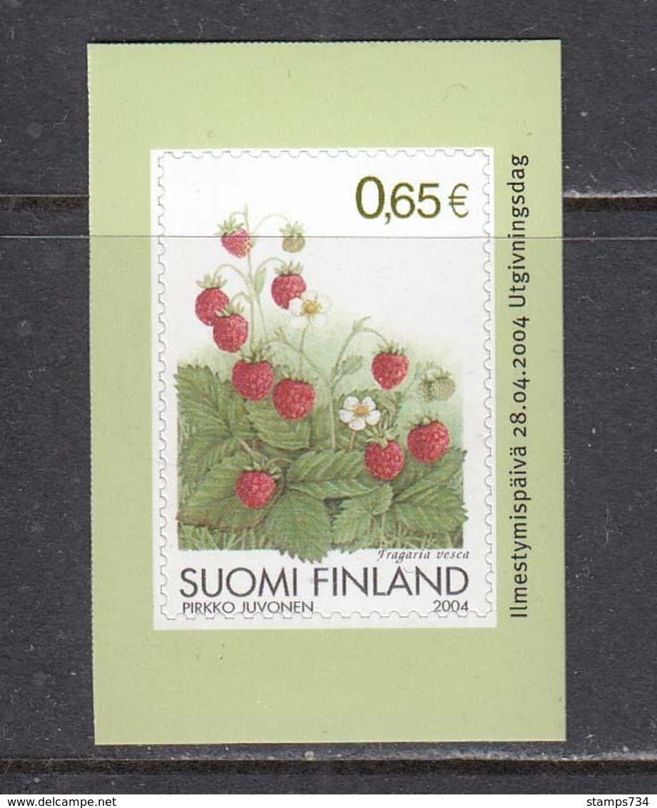 Finland 2004 - Walderdbeere, Mi-Nr. 1708, MNH** - Unused Stamps