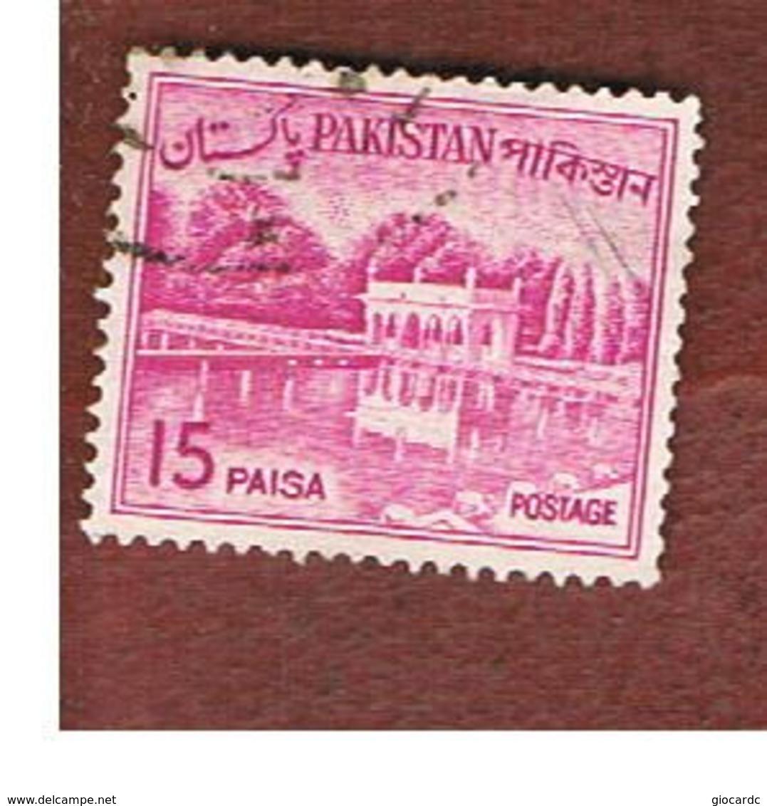 PAKISTAN  -  SG 176a  -  1965  SHALIMAR GARDENS   -  USED ° - Pakistan