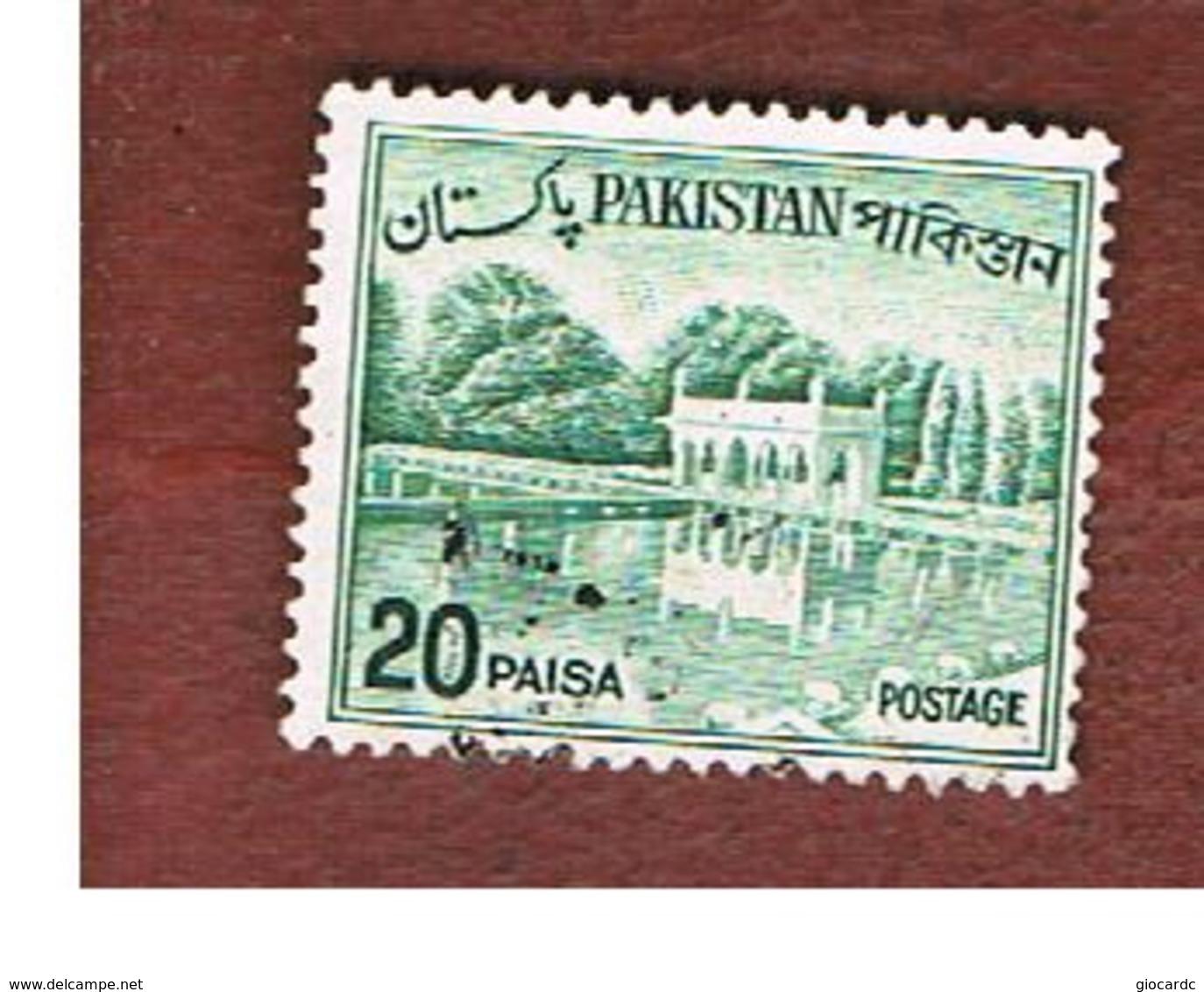 PAKISTAN  -  SG 176b  -  1970  SHALIMAR GARDENS   -  USED ° - Pakistan