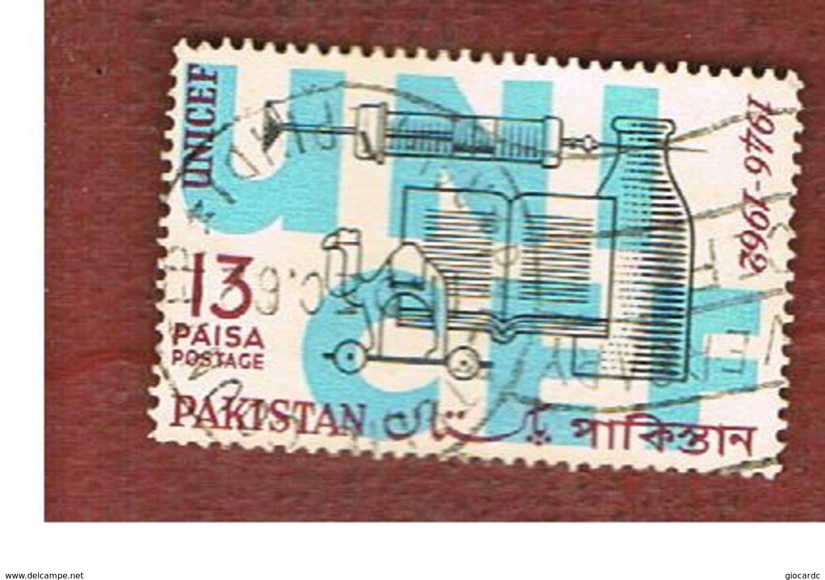 PAKISTAN  -  SG 168  -  1962 UNICEF  -  USED ° - Pakistan