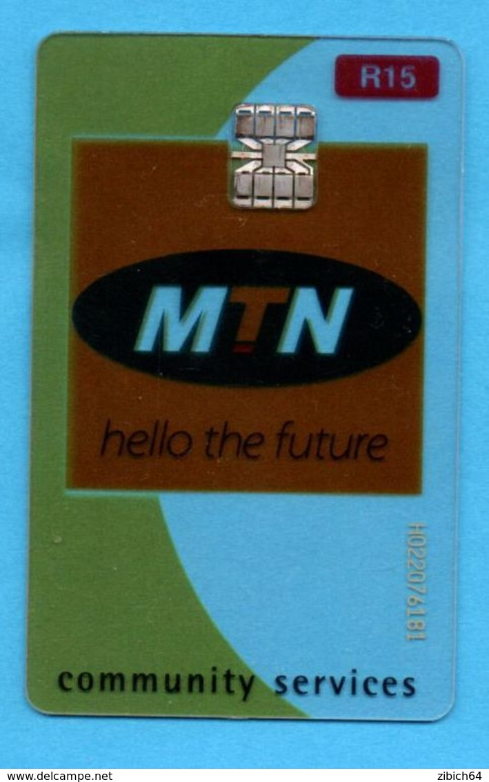 SOUTH  AFRICA Transparent Phonecard - South Africa