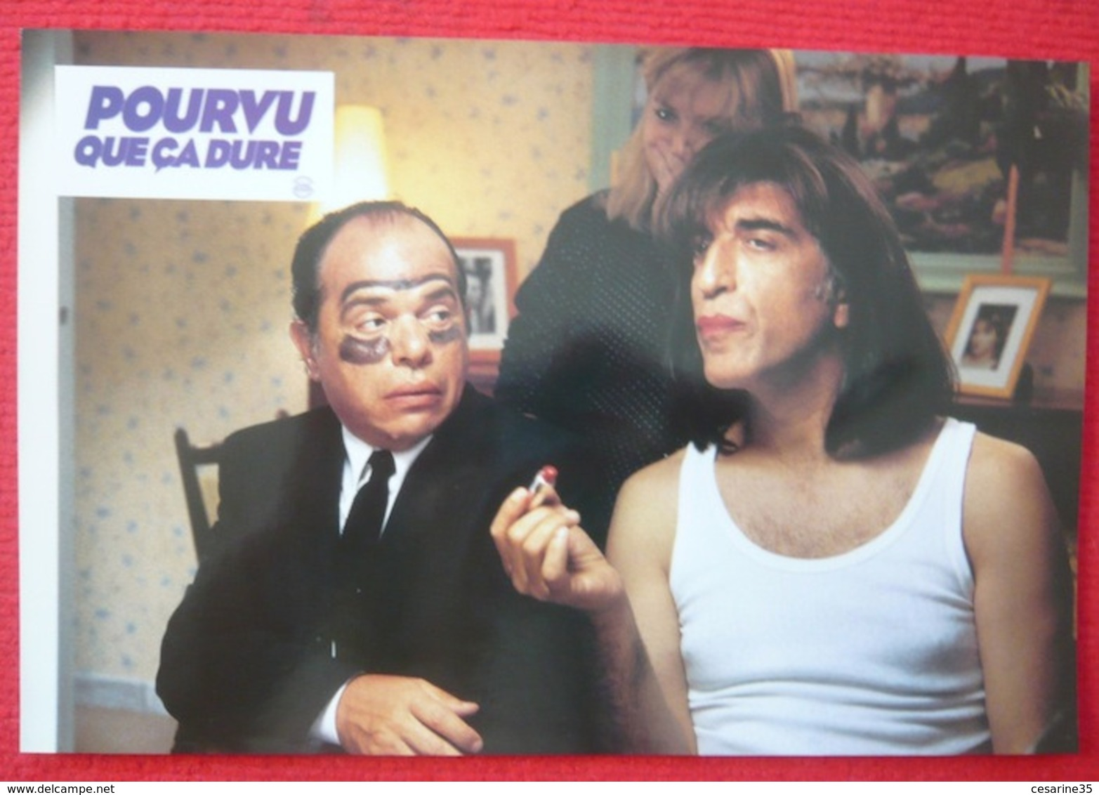 9 Photos Du Film Pourvu Que ça Dure (1996) - Ticky Holgado - Albums & Collections