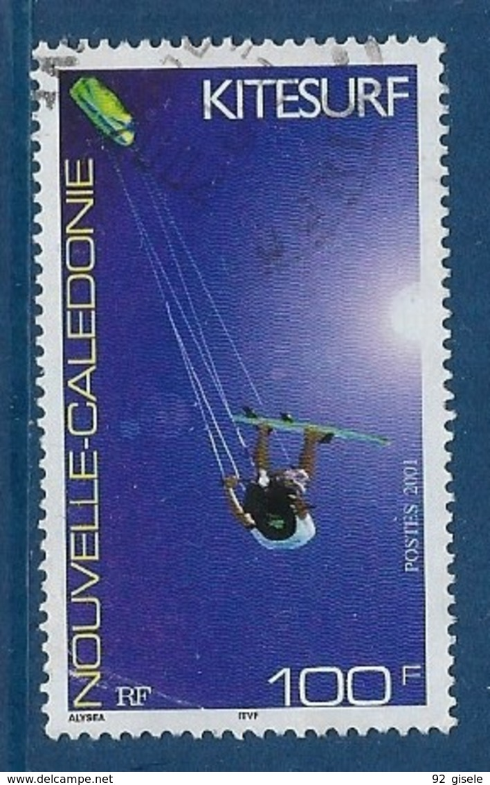 "Nle-Caledonie YT 856 "" Kitesurf "" 2001 Oblitéré - Gebraucht"