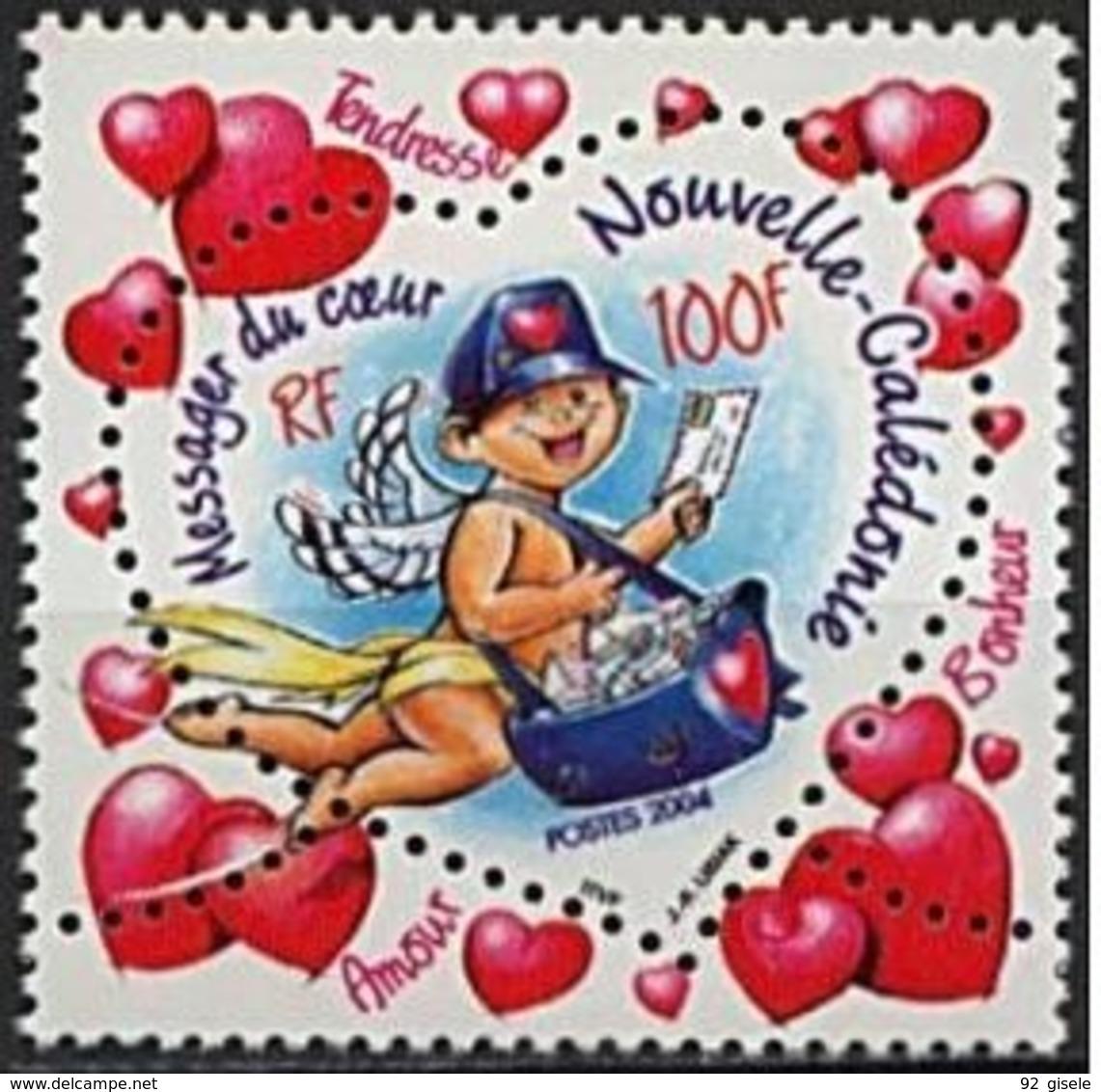"Nle-Caledonie YT 912 "" Saint-Valentin "" 2004 Neuf** - Nuova Caledonia"