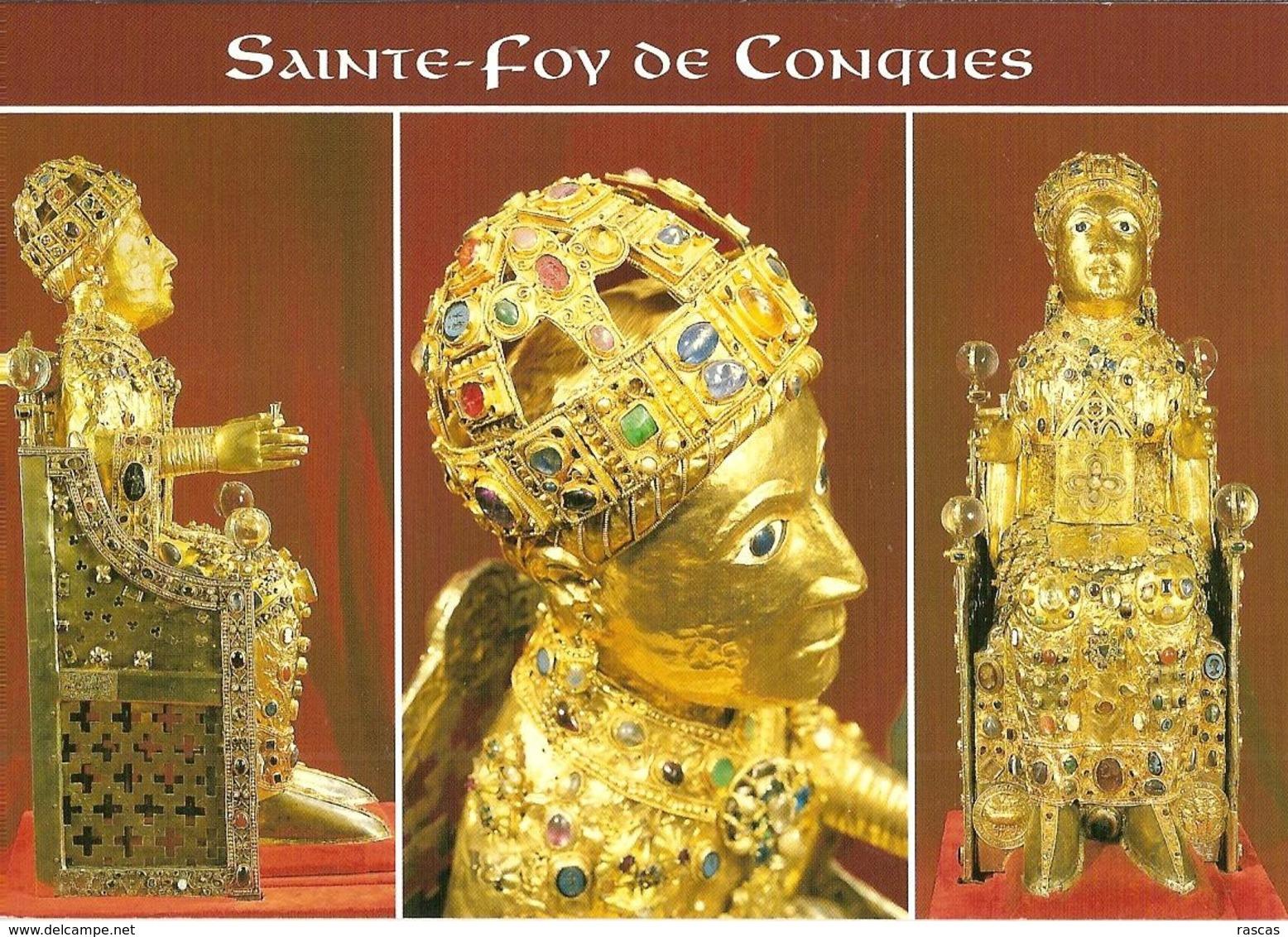CPM - AVEYRON - SAINTE FOY DE CONQUES - TRESOR DE CONQUES - France