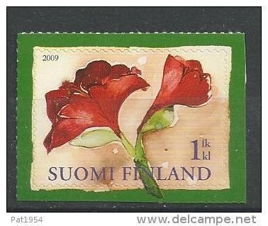 Finlande 2009  Neuf N°1964 Noël Fleur Amaryllis - Finland