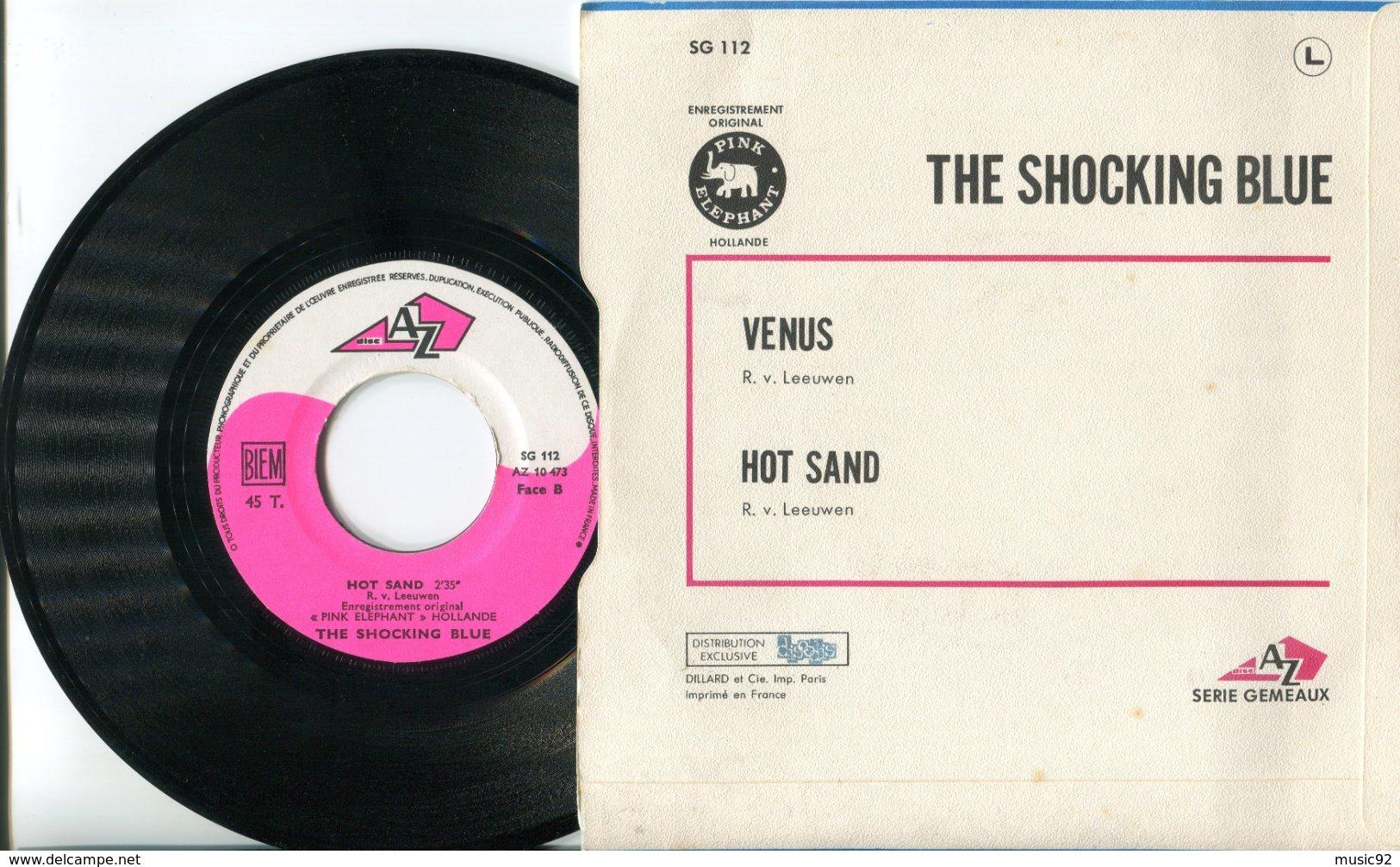 The Shocking Blue - 45t Vinyle - Venus - Disco, Pop