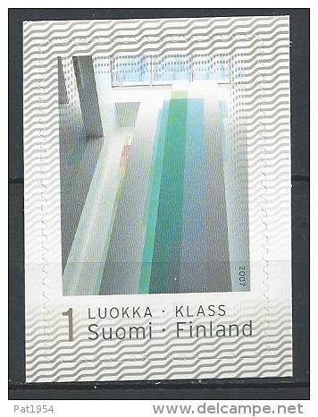Finlande 2007  Neuf N°1833 Timbre Personnalisé Architecture - Finland