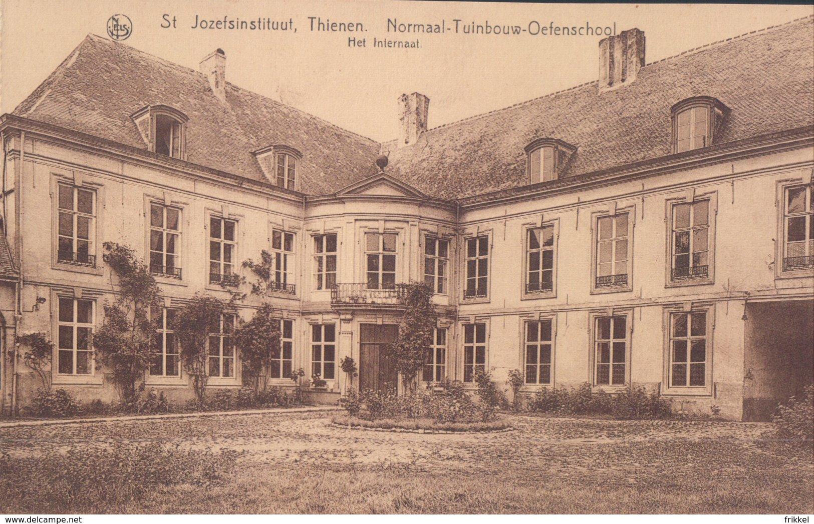 Tienen St. Jozefsinstituut Thienen Normaal-Tuinbouw-Oefenschool Het Internaat - Tienen