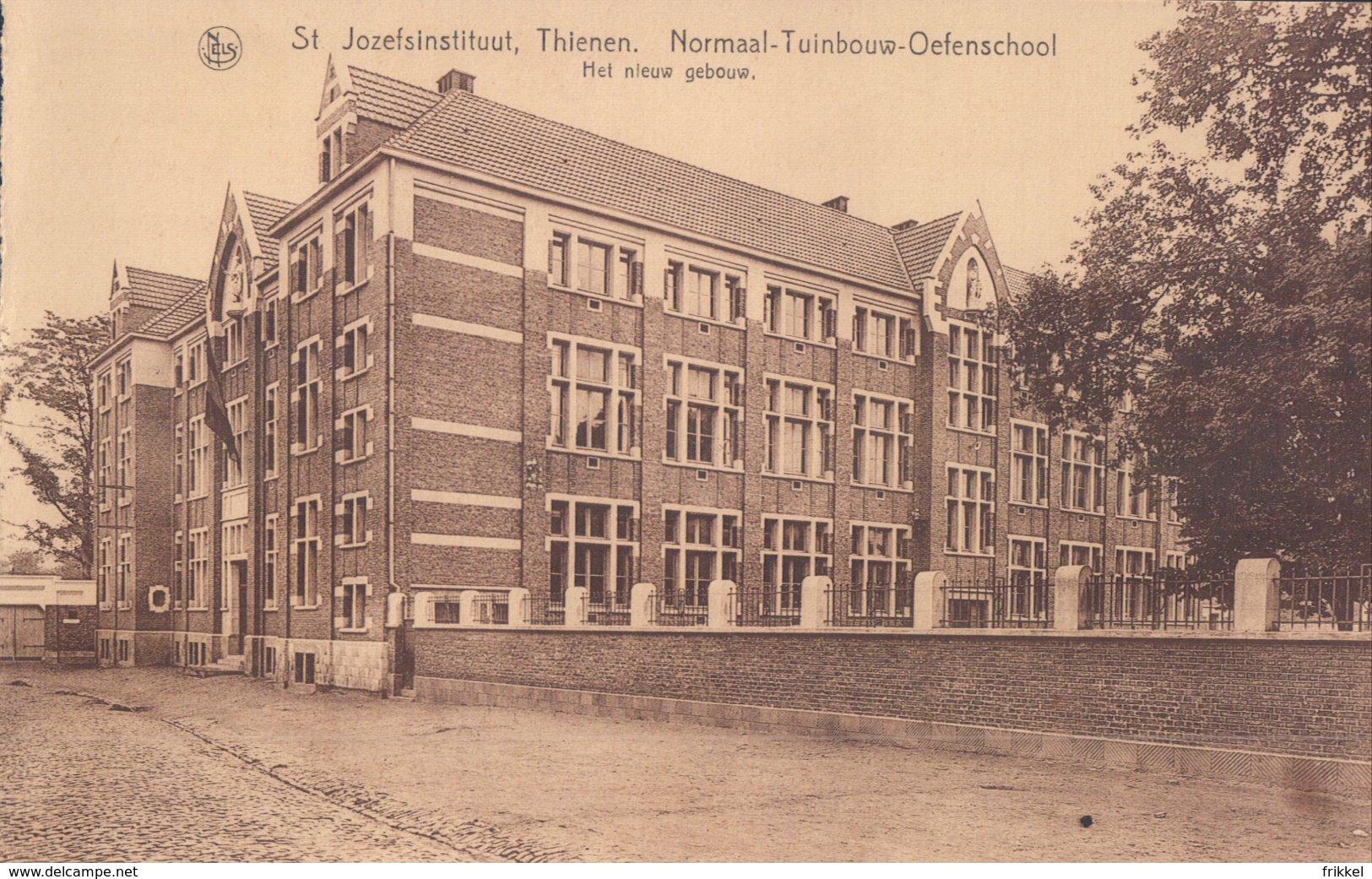 Tienen St. Jozefsinstituut Thienen Normaal-Tuinbouw-Oefenschool Het Nieuw Gebouw - Tienen