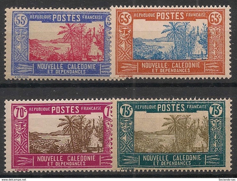 Nouvelle Calédonie - 1928-38 - N°Yv. 150A - 151 - 151A - 152 - 4 Valeurs - Neuf Luxe ** / MNH / Postfrisch - Neukaledonien