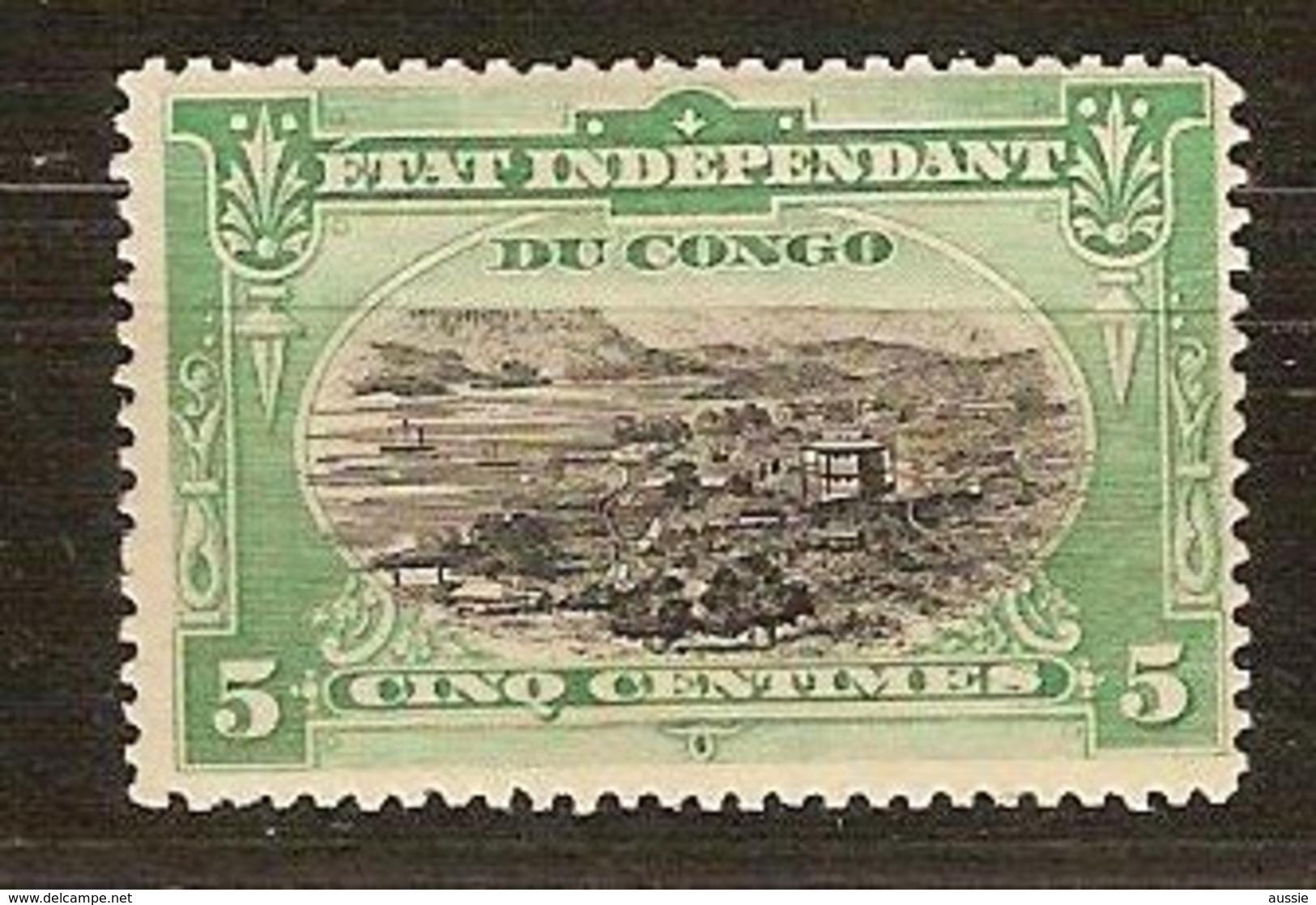 Belgisch Congo Belge 1894 OCBn° 16 (*) MLH - 1894-1923 Mols: Usados