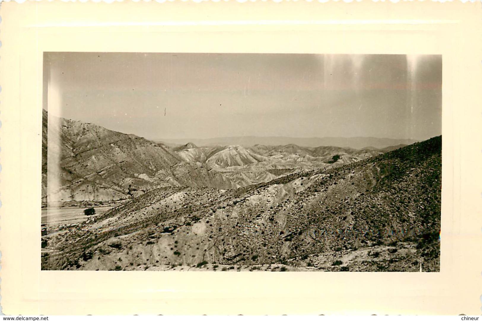 LOT DE  13 PHOTOS ESPAGNE 1957 PURULLENA LUMBRETAS GRANADA AMPOSTA TARIFA SIERRA ALHANULLA BENICARLOB - Orte