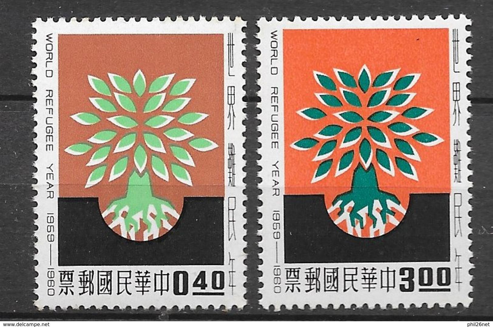 Formose Taiwan   N°  318  Et 319     Neufs * *   TB  =  MNH  VF       Soldé ! ! ! Le Moins Cher Du Site ! ! ! - 1945-... Republic Of China