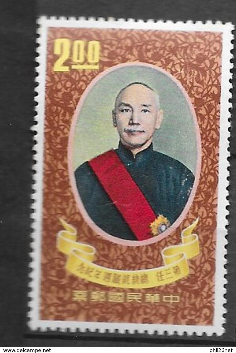 Formose Taiwan   N°   370  Tchang Kaï Chek Neuf * *   TB  =  MNH  VF   Soldé ! ! ! Le Moins Cher Du Site ! ! ! - 1945-... Republik China