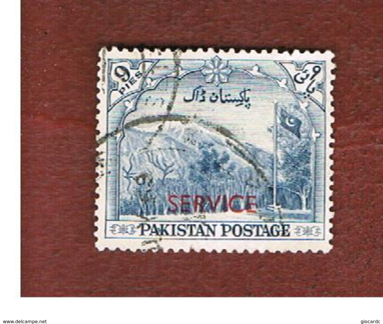PAKISTAN  -  SG O54  -  1954 OFFICIAL STAMP: LANDSCAPE (OVERPRINTED)    -  USED ° - Pakistan