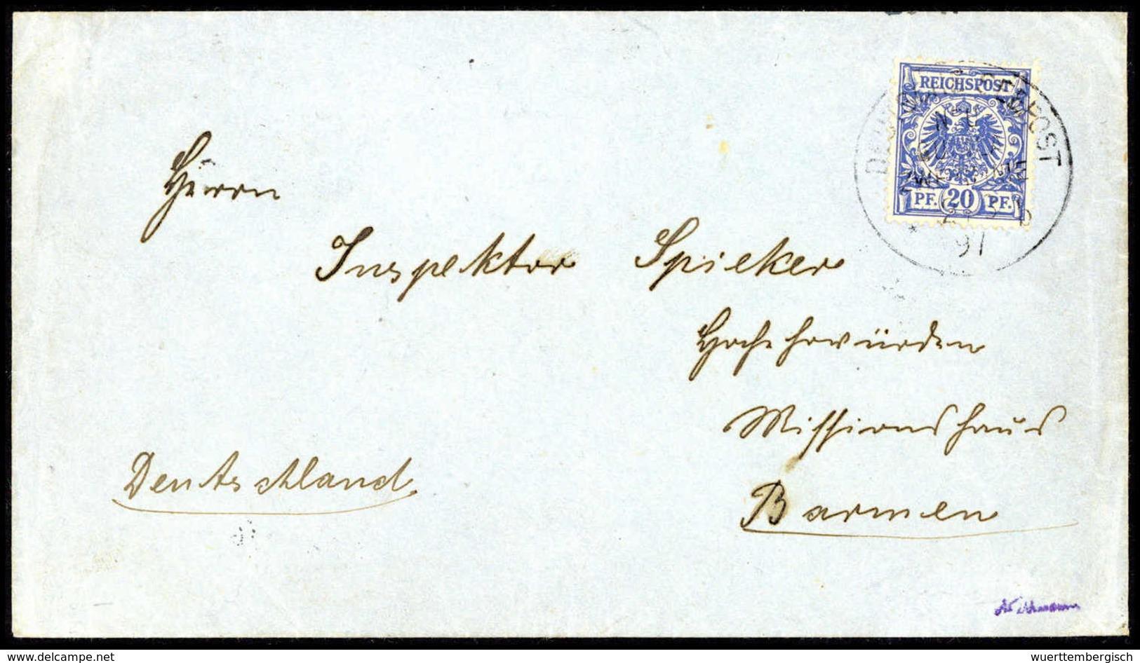 Beleg Deutsche Kolonien Neuguinea, Vorläufer - Stamps