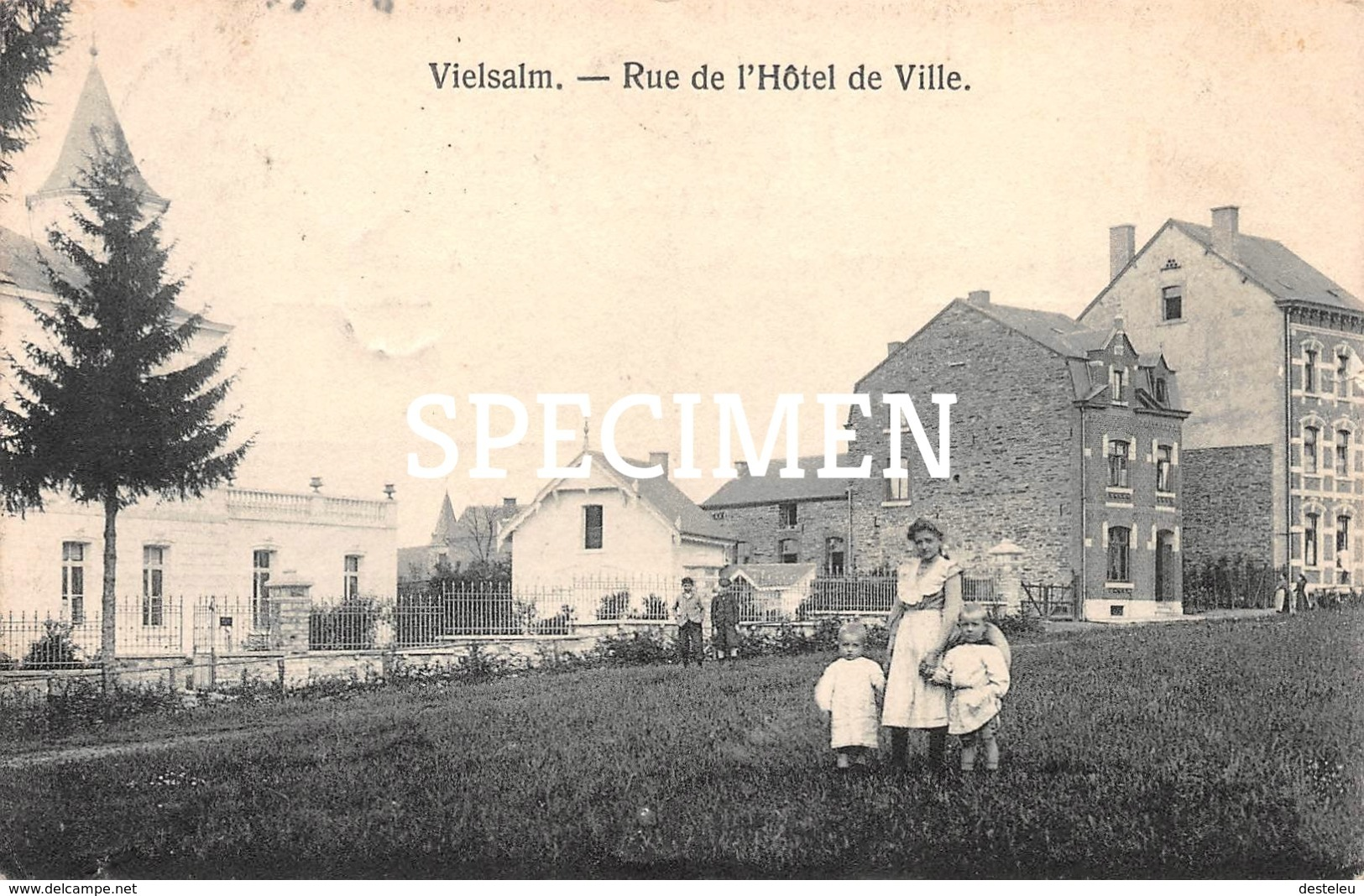 Rue De L'Hôtel De Ville - Vielsalm - Vielsalm