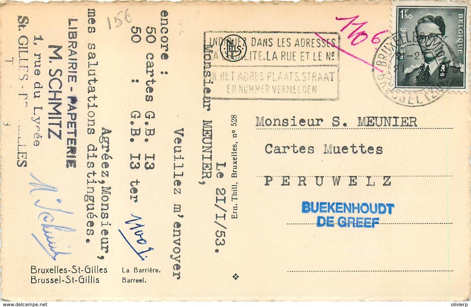 Belgique - Bruxelles - Saint-Gilles - La Barrière - St-Gillis - St-Gilles
