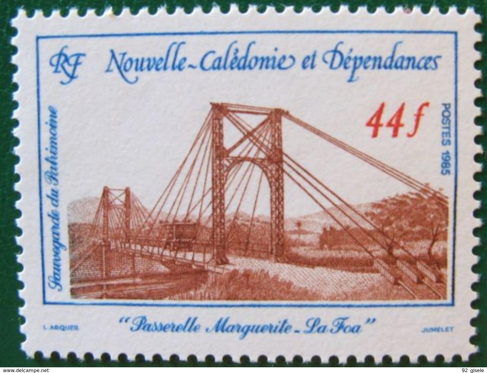 """Nle-Caledonie YT 503 """" Sauvegarde Du Patrimoine """" 1985 Neuf** - New Caledonia"""