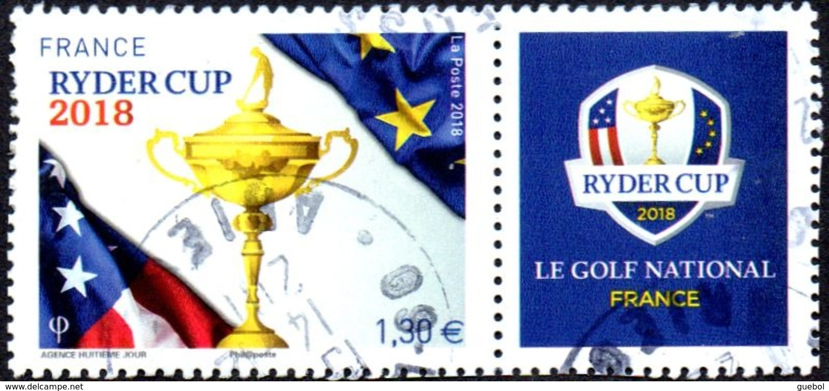 Oblitération Cachet à Date Sur Timbre De France N° 5245 Ryder Cup - Sport Golf - Frankreich