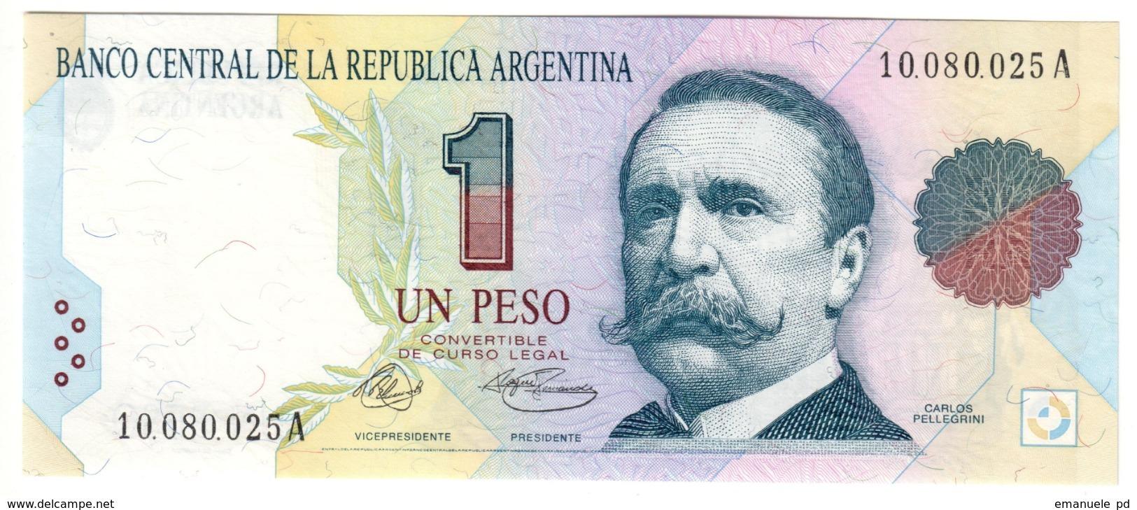 ARGENTINA1PESO1992P339UNC.CV. - Argentina